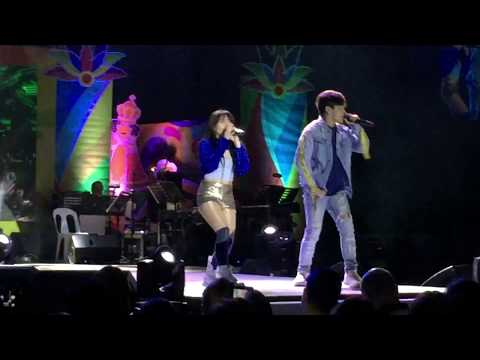The kilig performance of Ella Cruz and Julian Trono - Tumalon