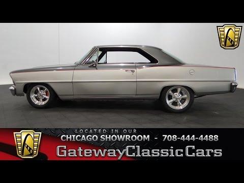 1967 Chevrolet Nova Gateway Classic Cars Chicago #1061