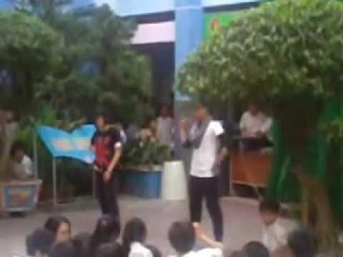 Nhảy hiện đại_9A5 [Trường THCS Võ Văn Tần]