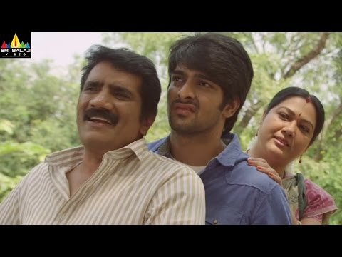 Oohalu Gusagusalade   Naga Shaurya Comedy Scene   Sri Balaji Video