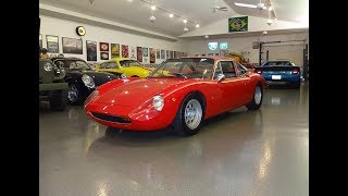1966 DeTomaso Vallelunga 1 of 53 in Red & Engine Sound on My Car Story with Lou Costabile