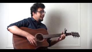 Mon Shudhu Mon Chuyeche   Souls   4K   Unplugged Guitar Cover by Ahmed Rashik