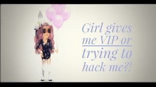 Msp// Girl gives me VIP code or trying to hack me?!