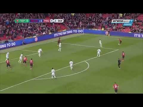 Manchester United vs Derby county 3-2 Fellaini's late minute goal 25-09-2018