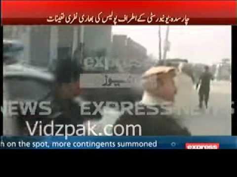 Pakistan Army operation Bacha Khan University in Charsadda Terrorists Attack Bacha Khan University