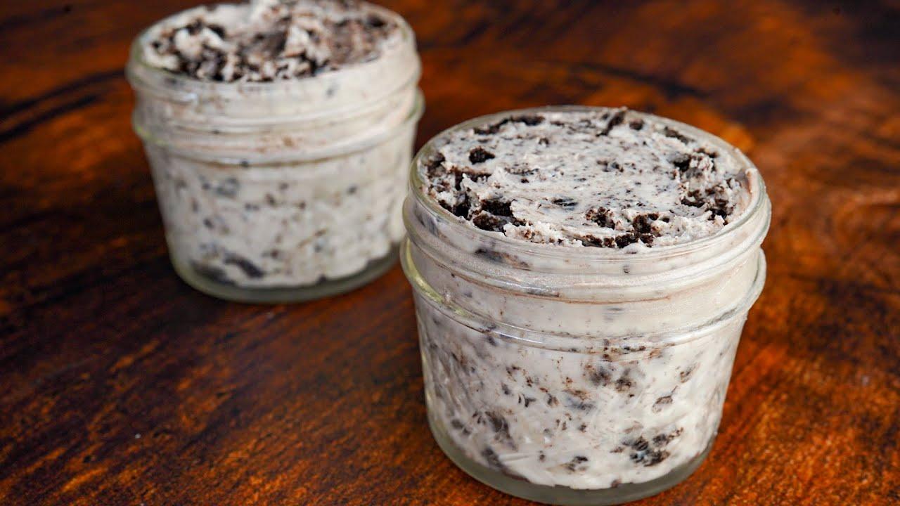 40 Calorie Oreo Cheesecake Protein Frosting Recipe!