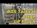 """Large GP Pouch by BDS Tactical - The Well Rounded """"Everything"""" Pouch"""