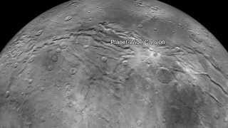 Flying Over Charon