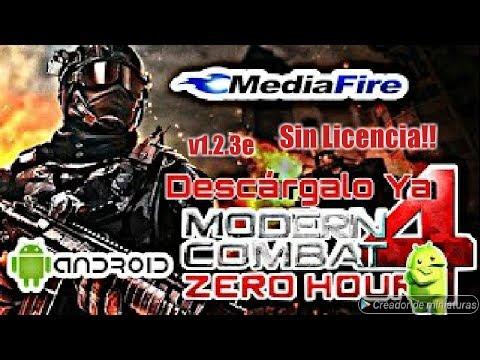 Como Descargar Modern Combat 4 v1.2.3e | Sin Licencia!! Para Android | Apk + Obb 🎮