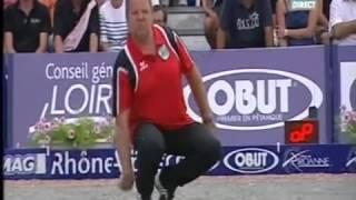 Championnat de France Petanque Triplette 2012 Roanne