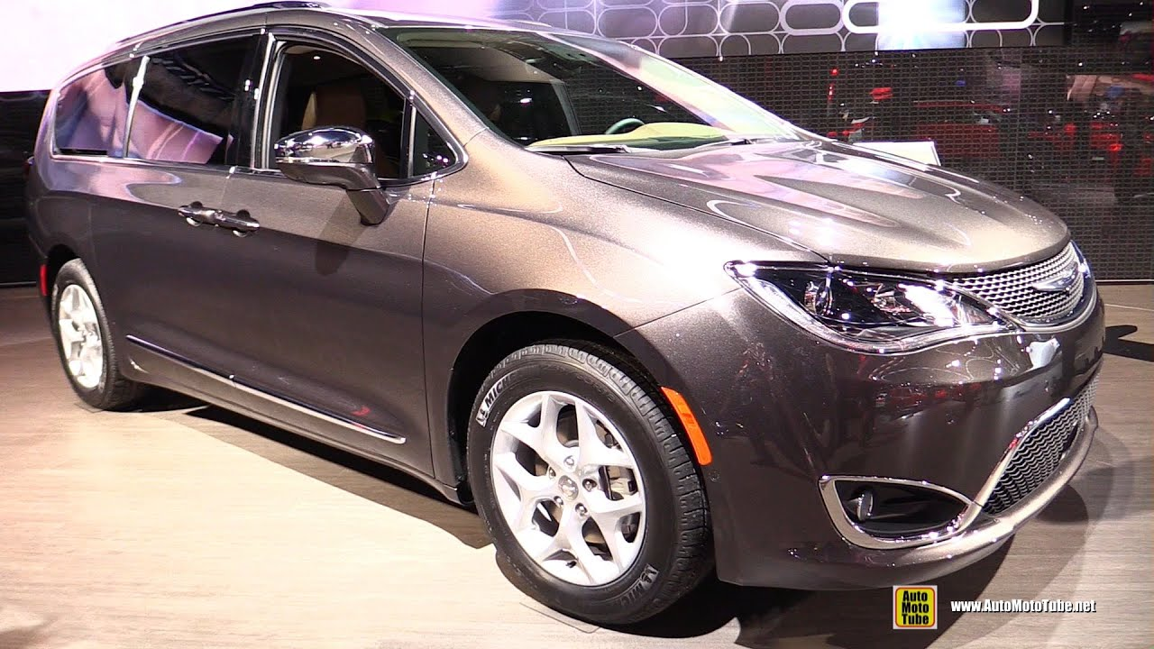 2017 Chrysler Pacifica Limited Exterior And Interior Walkaround Debut At 2016 Detroit Auto Show You