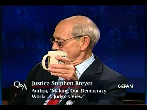 Justice Breyer comments on Sharia Law