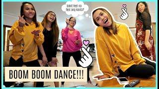 BOOM BOOM DANCE CHALLENGE + KARAOKE + KAINAN!! ❤️ | rhazevlogs
