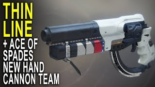 Thin Line and Ace of Spades - PVP Double Trouble | Destiny 2 Crucible