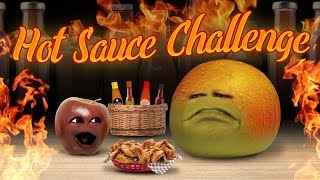 Annoying Orange - Hot Sauce Challenge