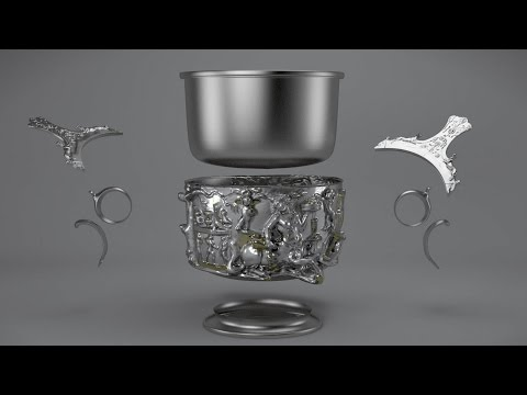 How a Roman silver cup was made