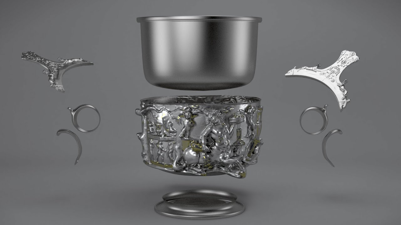 The Making of a Roman Silver Cup