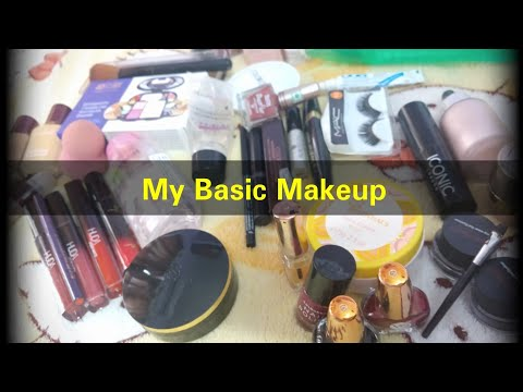 Basic Makeup tips in tamil and my make products