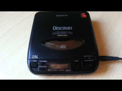 It's a Sony Discman D-33 vintage 1991