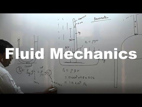 Fluid mechanics part-time in Hindi