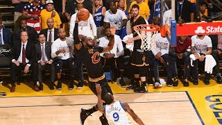 Top 10 dunks of the 2017 nba finals!