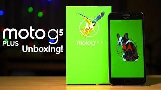 Moto G5 Plus Unboxing & Hands on Review - Redmi Note 4 Killer? (ft. Moto M)