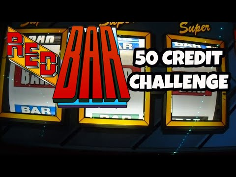 Double Electrocoin Red Bar 50 credit challenge