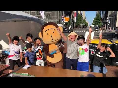 HBC(北海道放送)とれたてマルシェに出展&取材