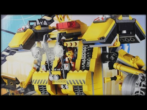 Emmet's CONSTRUCTO MECH - 70814 - The Lego Movie Set Review