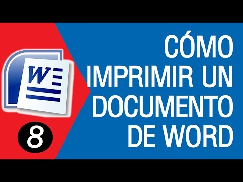 How to Print a WORD Document 2007│2010│2013