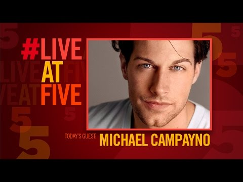 Broadway.com #LiveatFive with WICKED's Michael Campayno