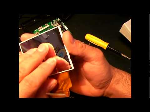 DIY LED Projector (3) Taking monitor apart. - YouTube