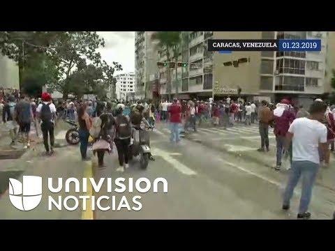 Venezuela: Juan Guaidó se autoproclama presidente interino y Trump lo reconoce