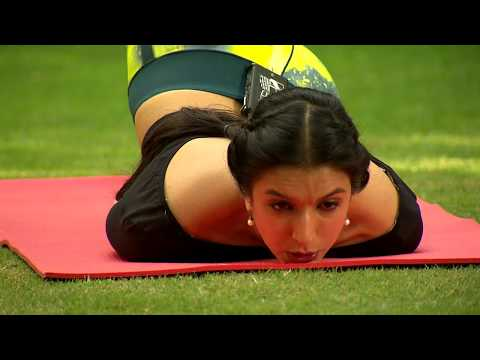 Yoga with Ira Trivedi - Yoga to fight off cervical spondylitis