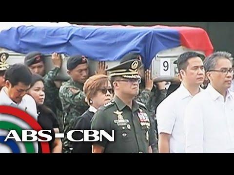 PANOORIN: Pagpupugay sa bayaning SAF members
