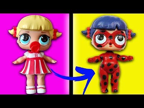 Muñeca LOL de ladybug | Como se hace | Marinette y Adrien