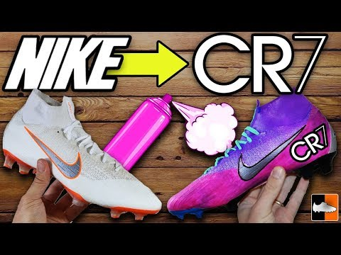 Ronaldo & Mbappe Crazy Magic Changing Boots! 💜 How To Make Them!