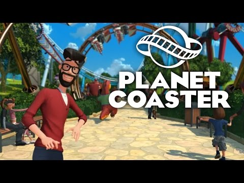 Planet Coaster Gameplay Trailer