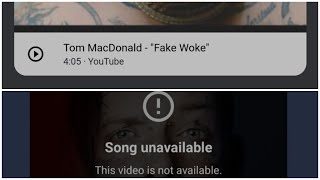 Tom MacDonald Fake Woke Pulled From iTunes & YouTube Music? - itunes charts today christian