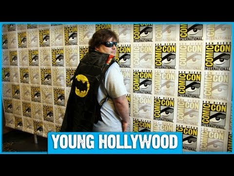 How Jack Black Hides in Plain Sight at ComicCon