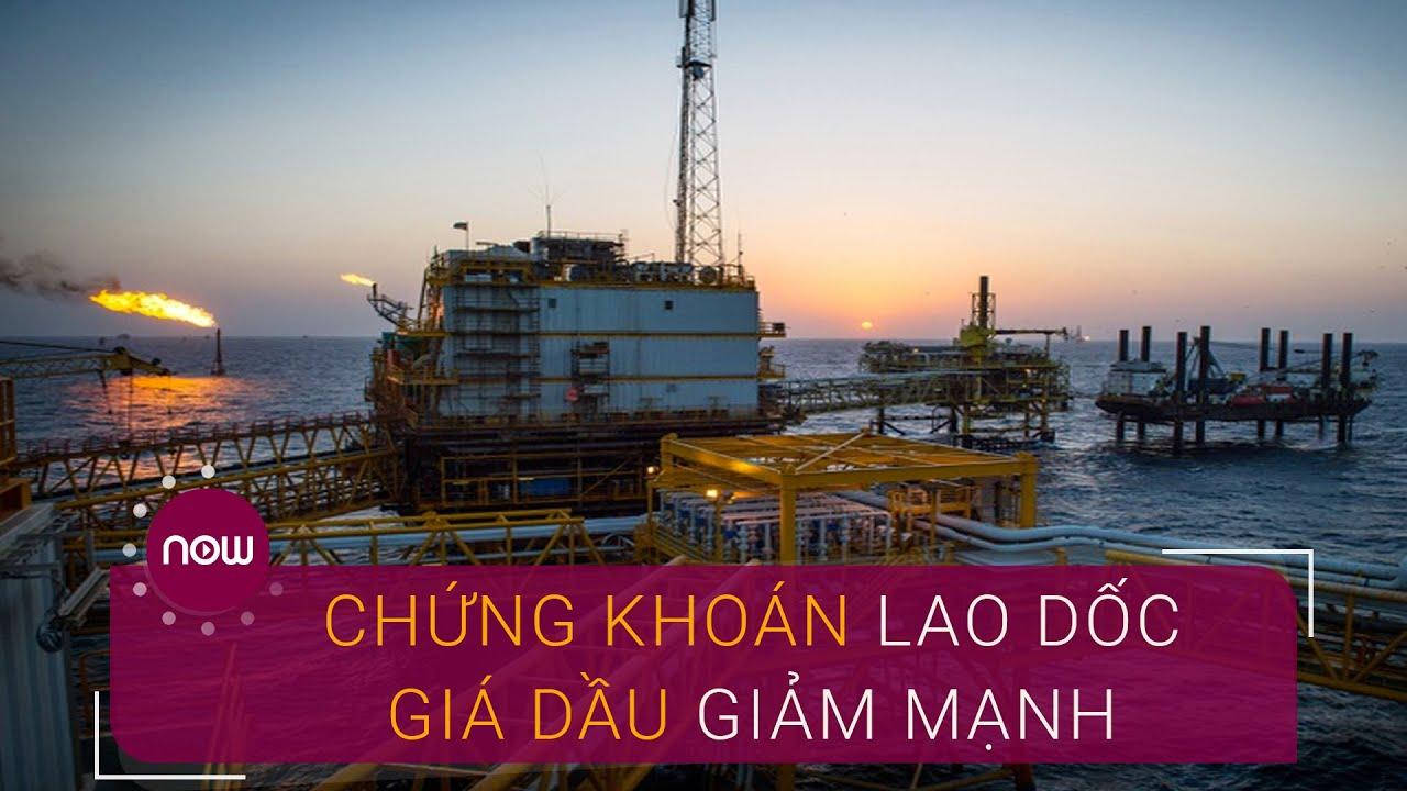 Thị trường chứng khoán lao dốc, giá dầu giảm mạnh | VTC Now