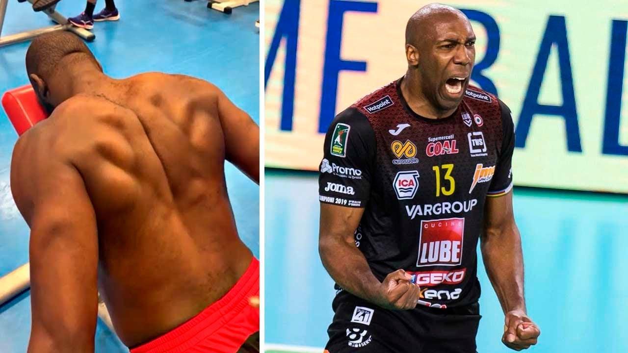 Robertlandy Simón - Volleyball King Middle Blockers | Highlights | Men's SuperLega | 🇮🇹
