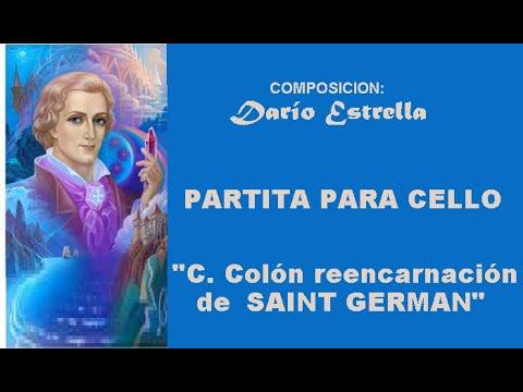 Download DARIO ESTRELLA  C  Colón reencarnacin de Saint Germain Partit de cello