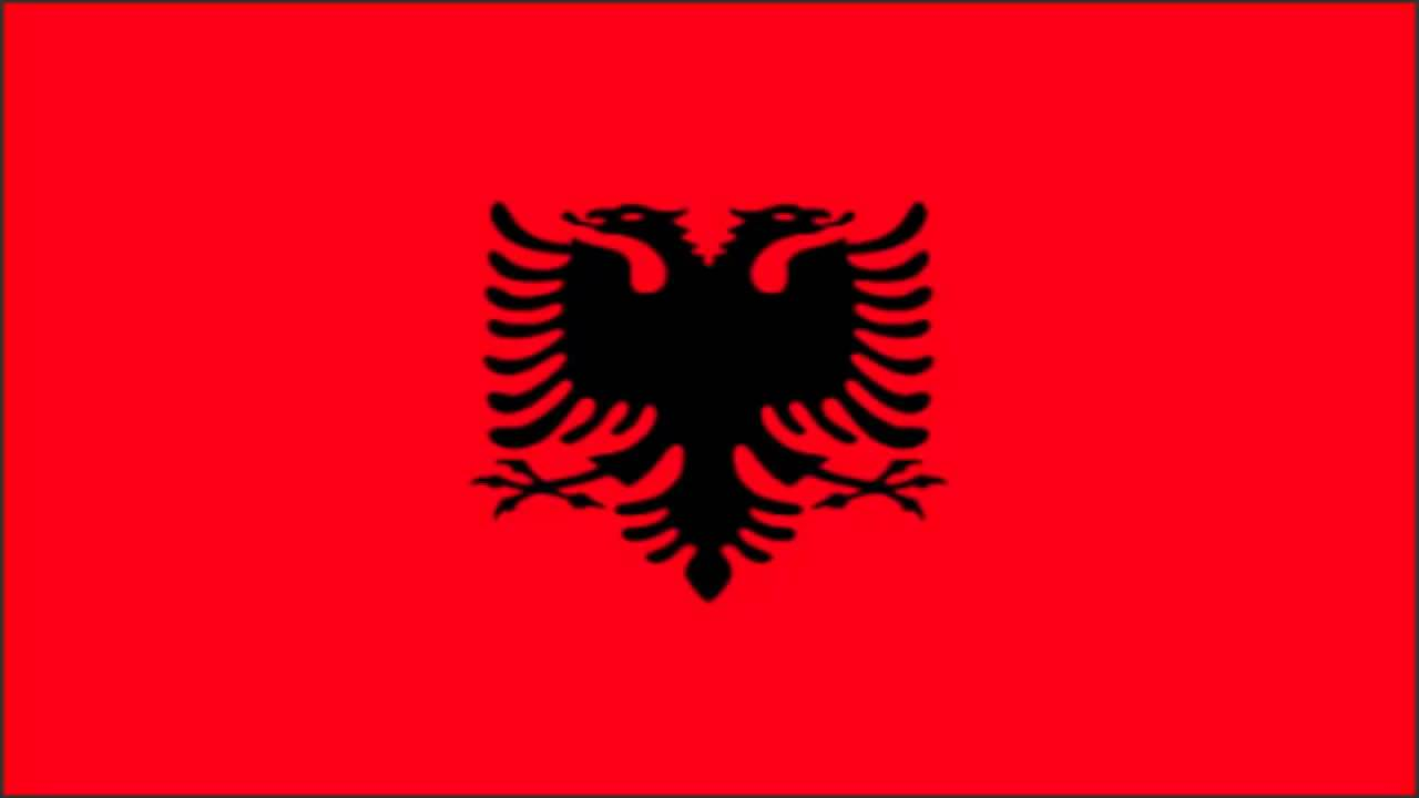Albania Flag And Anthem YouTube - Albania flag