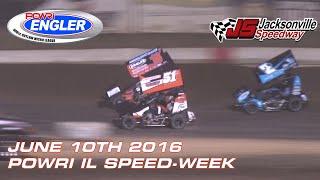 Jacksonville Speedway POWRi Speedway Motors Micros Feature Midget Highlights