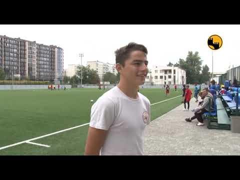 Телеканал ЧЕРНІВЦІ: Юні футболісти з усієї області приїхали до Чернівців щоб взяти участь у товариському турнірі, у рамк