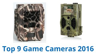 9 Best Game Cameras 2016
