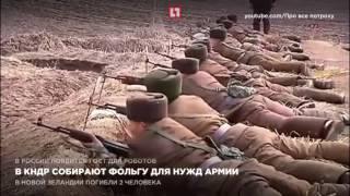 В КНДР собирают фольгу для нужд армии