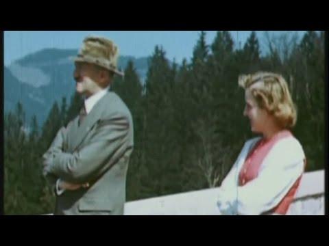 HD   Adolf Hitler y Eva Braun - 720p