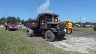 Euclid Dump Truck in Action - 2014 HECA National Meet